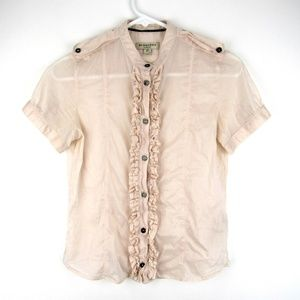 Burberry London Womens Size 2 Top